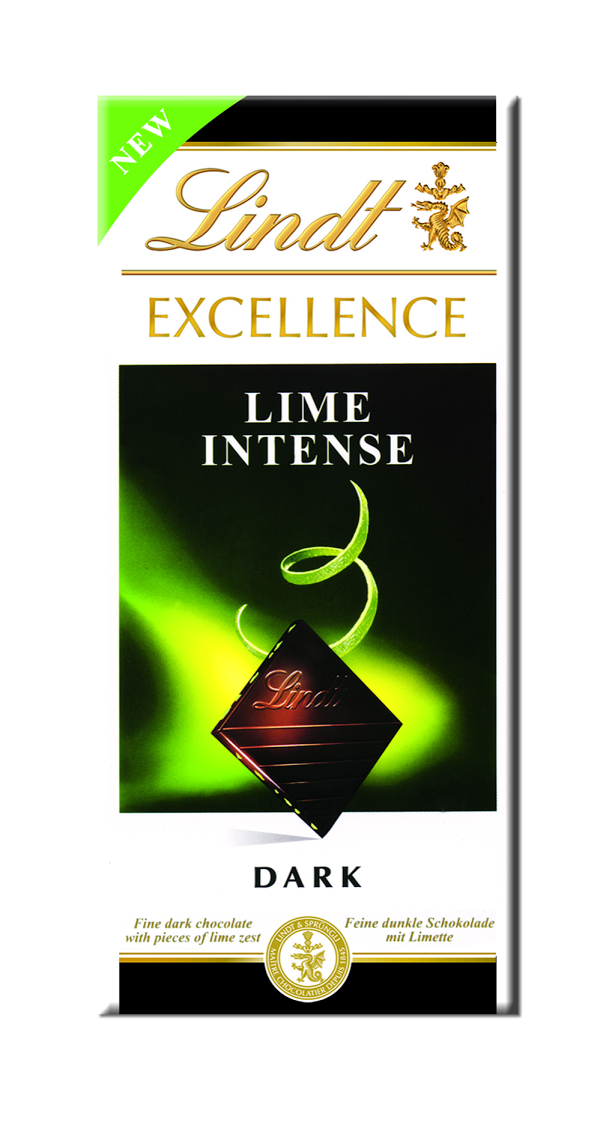 Новинка Lindt: Excellence Лайм