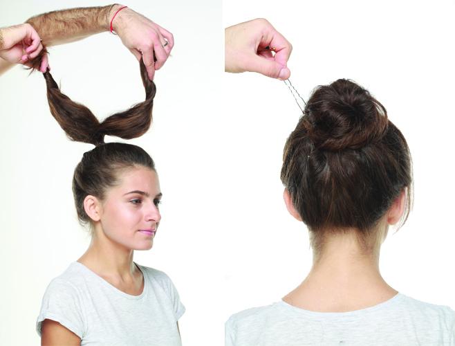 Как сделать укладку лаком для волос